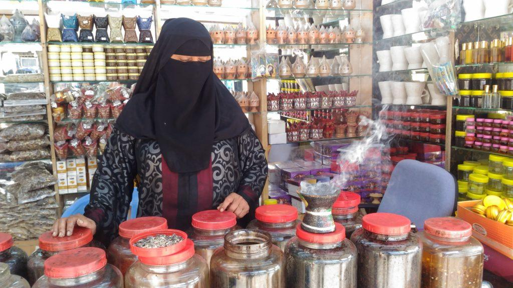 The widest choice of perfumes, incenses and souvenirs can be found on the traditional al-Haffa market. Salalah city tour.