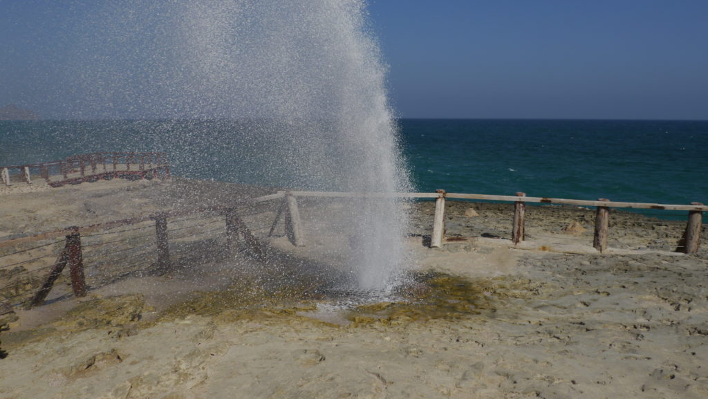 Marneef cave and blowholes, located in Mughsail are the highlights of Dhofar West Coast trip from Salalah.