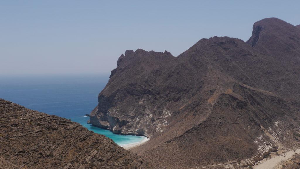 Secret beach is a hidden treasure of the western coast of Dhofar. Salalah West Coast tour.