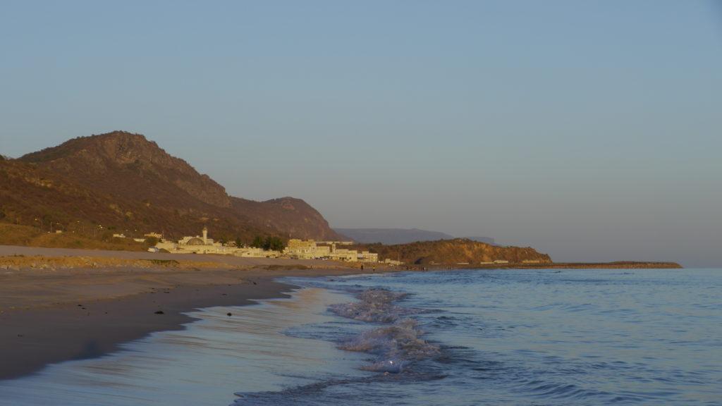 Dhalkut beach in Western Dhofar 160km from Salalah. Dhofar West Coast Odyssey.