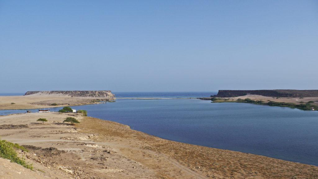 Khor Rori is a large lagoon under the ruins of Samharam (Unesco site). Excellent spot for birdwatching. East of Salala trip.