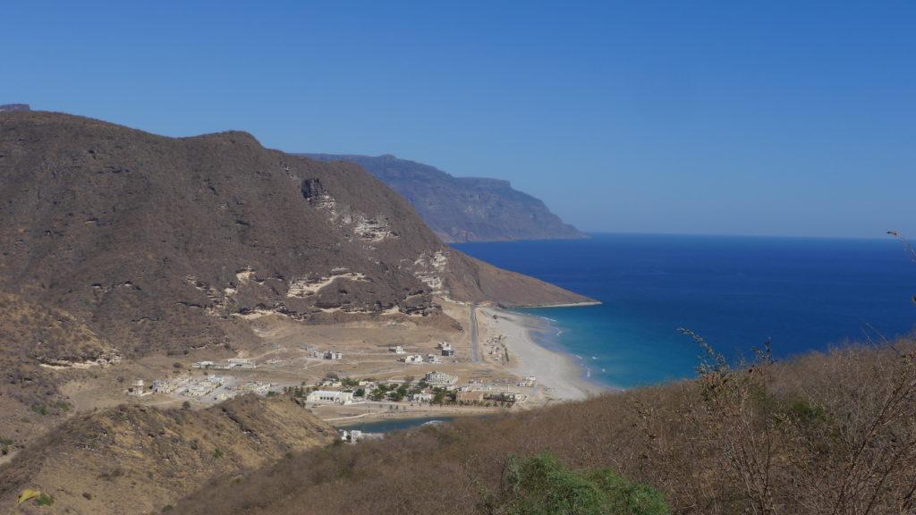 Rakhyut village, Western Dhofar, 120km from Salalah. Dhofar West Coast Odyssey.